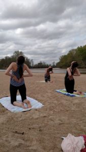 Yoga on the Kaw
